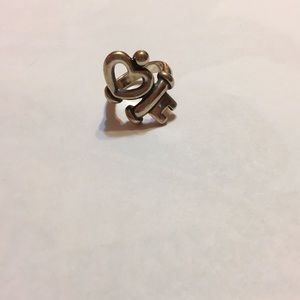 James Avery Key to my Heart Ring. Size 4 1/2